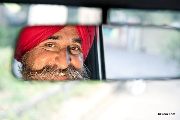 indian taxi driver