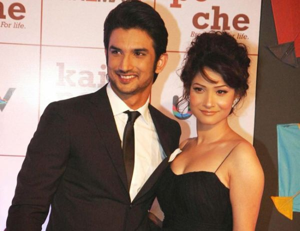 Sushant Sing Rajput and Ankita Lokhande