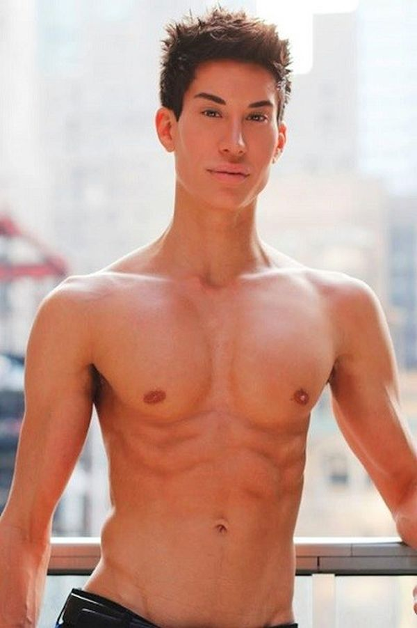 world's first human Ken doll