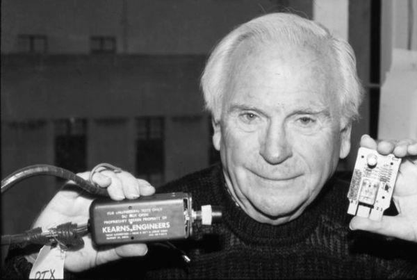 American inventor Robert Kearns