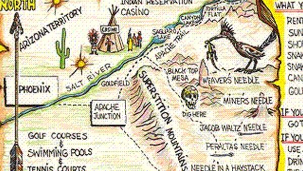 Lost Dutchman's gold mine