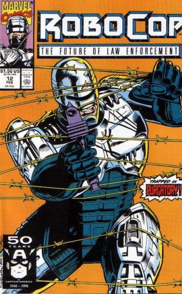 Robocop Marvel Comics