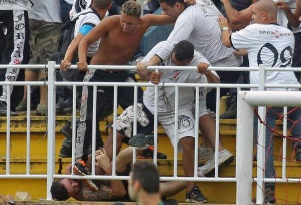Brazil League Soccer Match