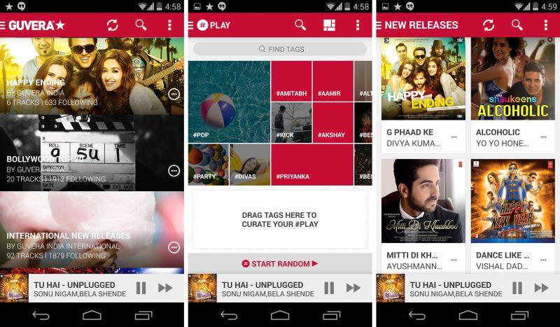 top online music sites india