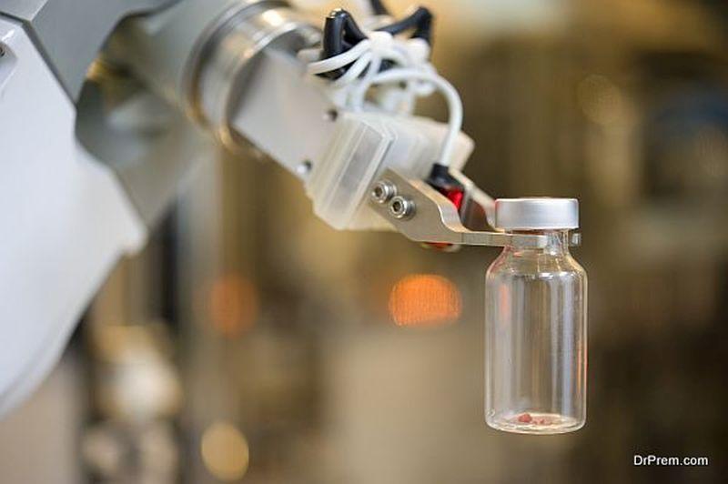 working-robot