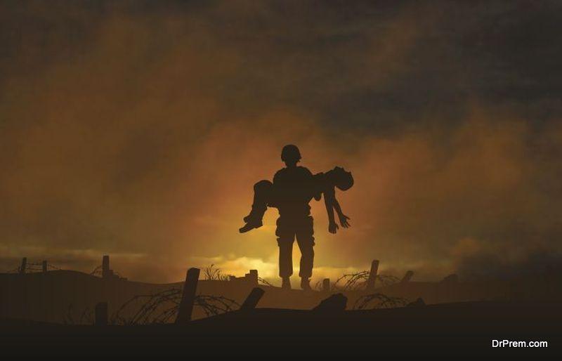 War casualty