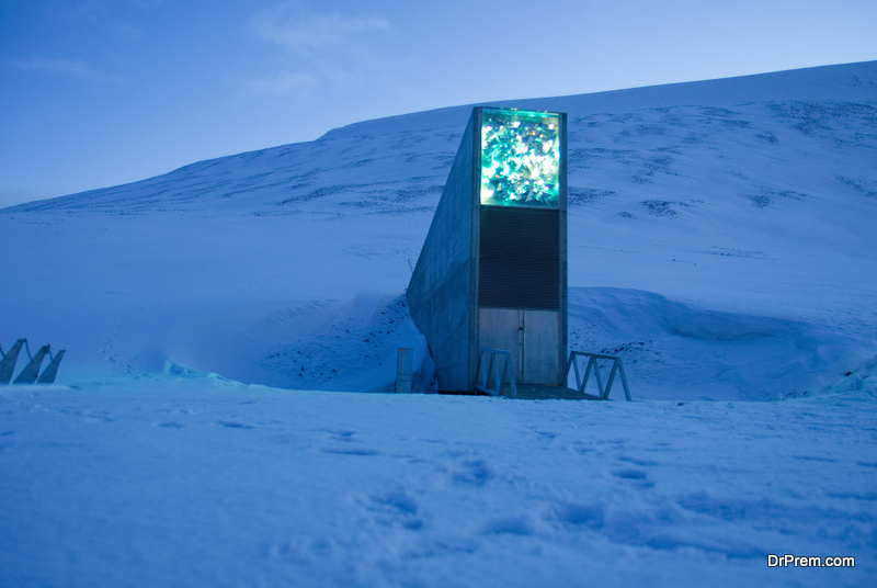 Svalbard global seed vault - the world´s largest seed collection.