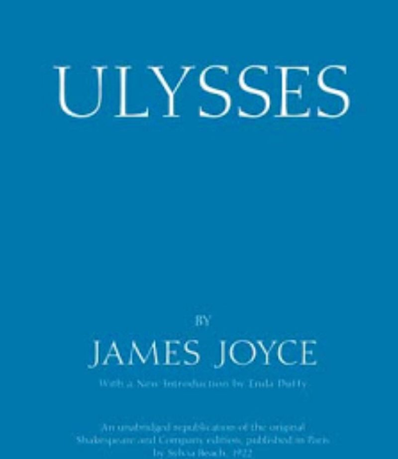 reading James Joyce's Ulysses