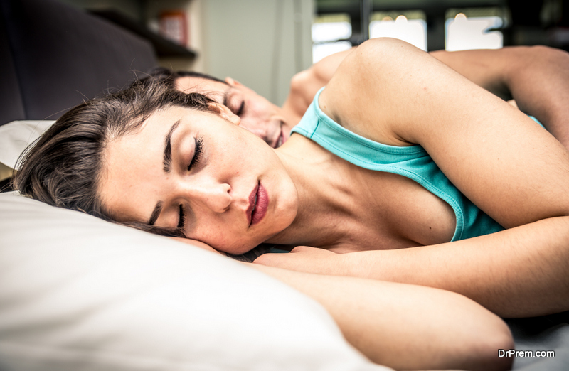 How most people sleep