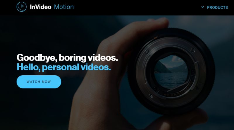 InVideo video creation software
