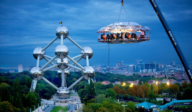 Dinner In The Sky, Belgium