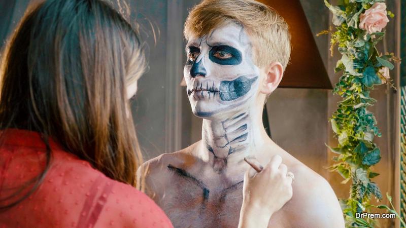 Halloween Make-Up Game