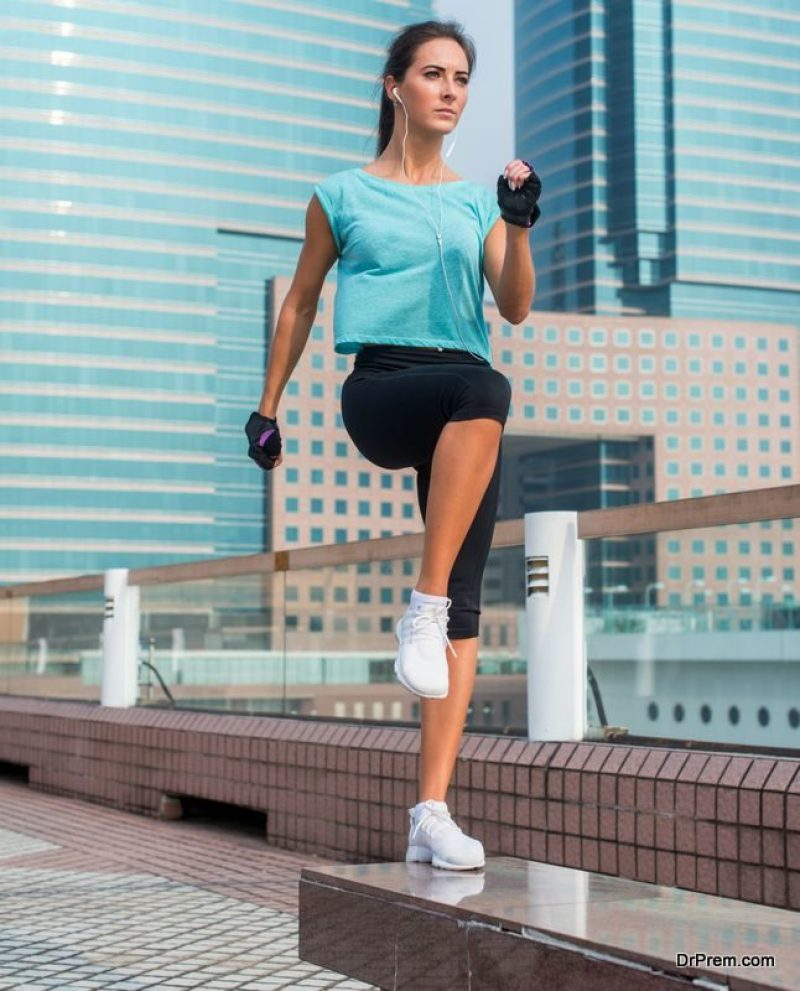 Step-up-exercises