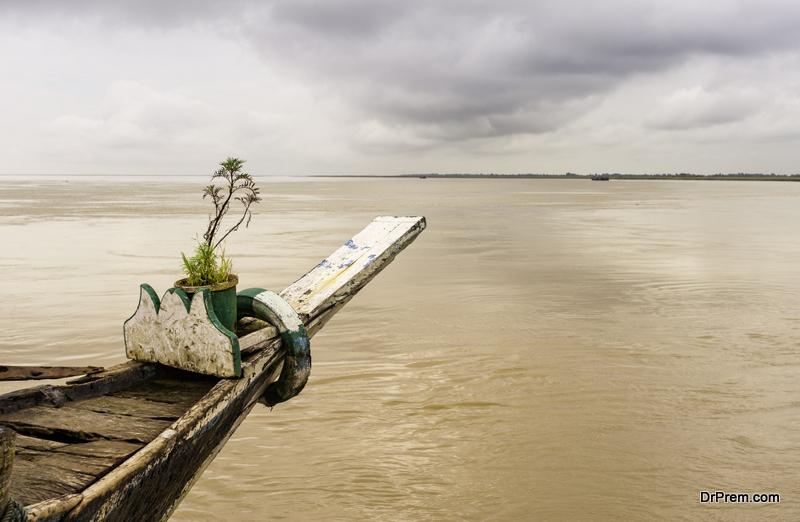 Dredging of Brahmaputra river