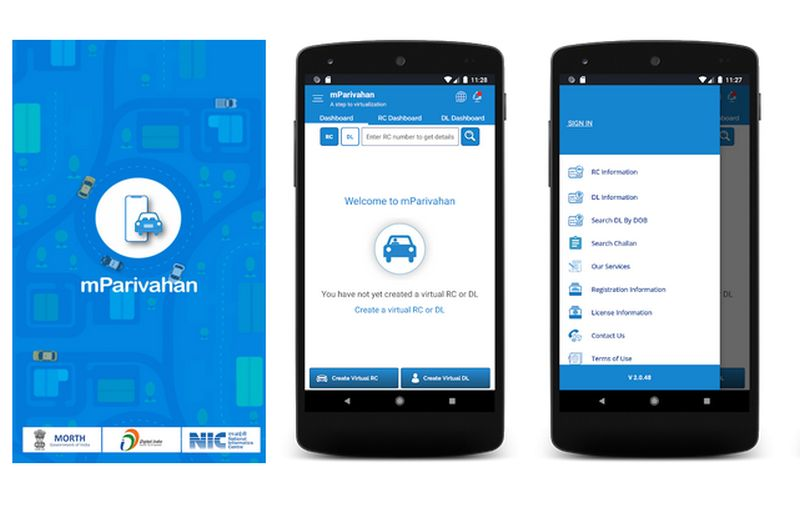 mobile applications to store vehicle-related documents