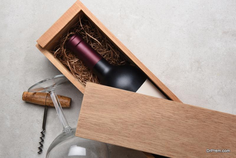 Personalized Wine Box