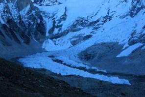 View of the khumbu icefall from Kala Pathar