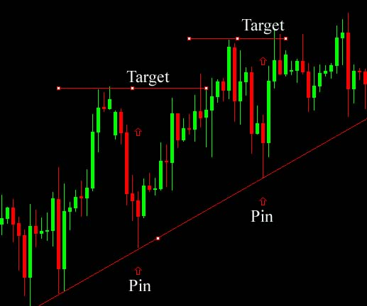 Image result for forex - how set up profit target with bullish pin bar
