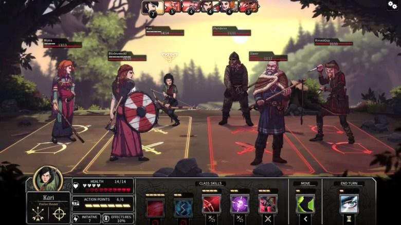 dead in vinland battle
