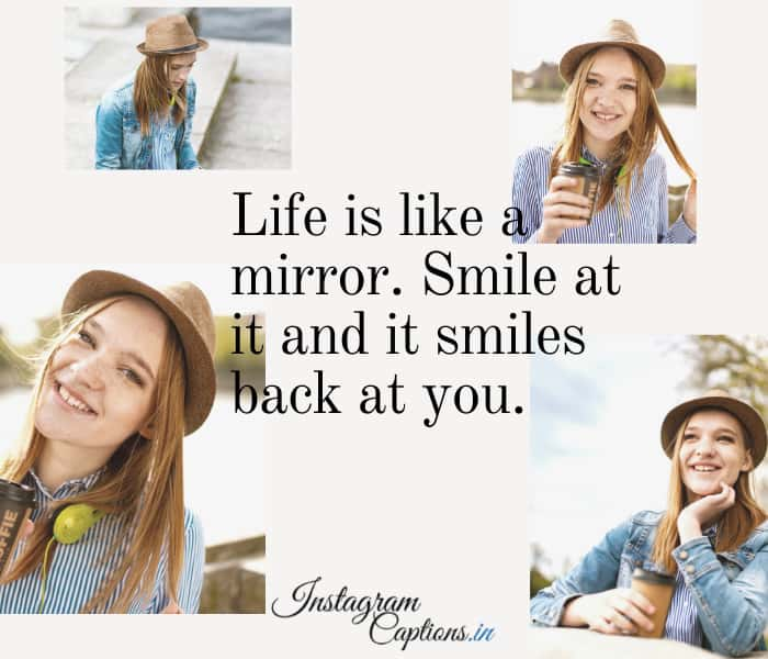 Smile Instagram Captions for Girls