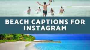 Beach Captions for Instagram