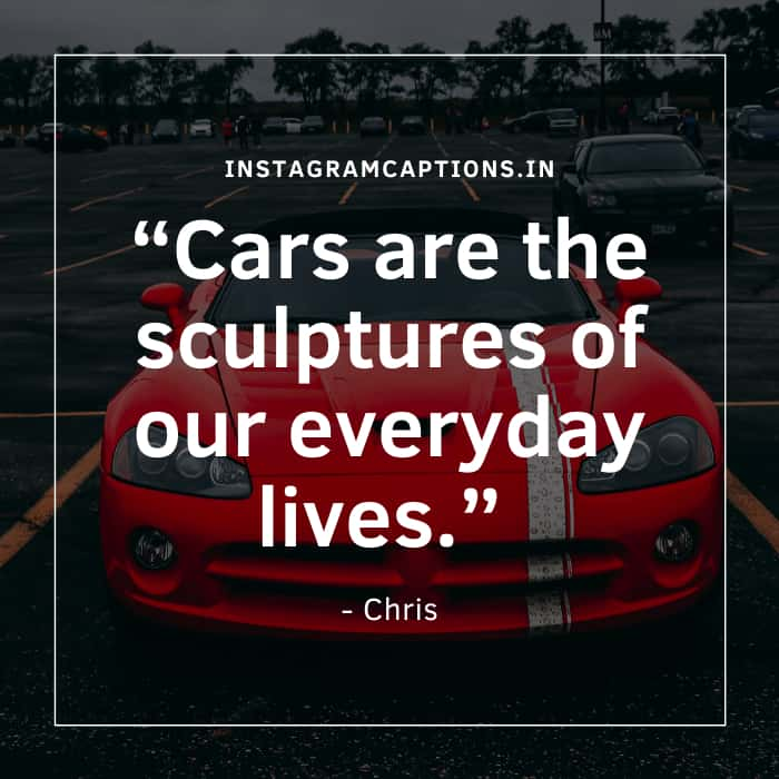 Car Quotes for Instagram