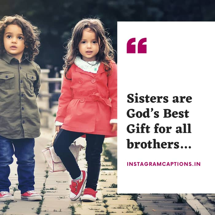 Cute Captions for Sister