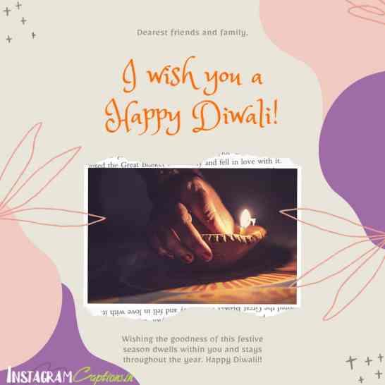Diwali Captions
