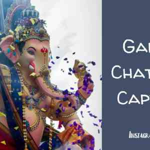 Ganesh Chaturthi Captions for Instagram
