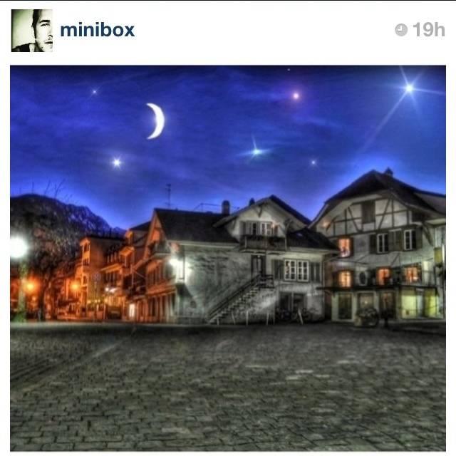 FlashOn 1.1: Night and Stars by @minibox