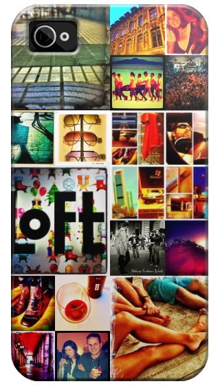 Casetagram Iphone Case with your Instagram Photos