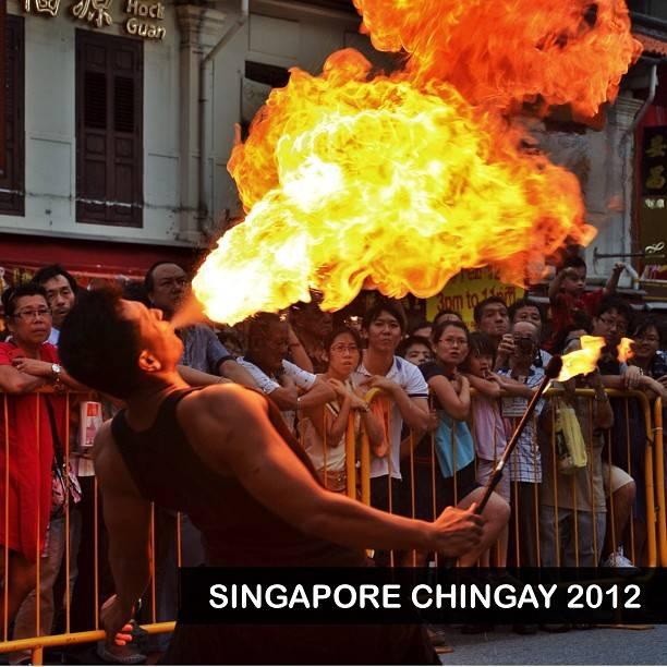 Singapore Chingay Parade 2012 on Instagram