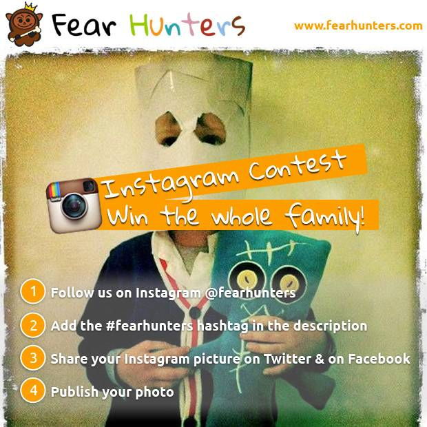 Fear Hunters contest on Instagram!
