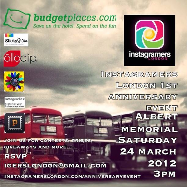 First Instameet Worldwide anniversary with Instagramers London.