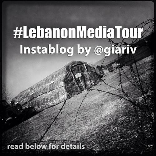 Lebanon Media Tour in Instagram with @Giariv
