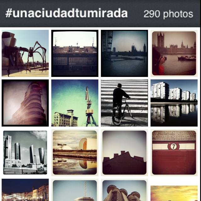 Una ciudad. Tu mirada concurso fotográfico del Canal Odisea en Instagram