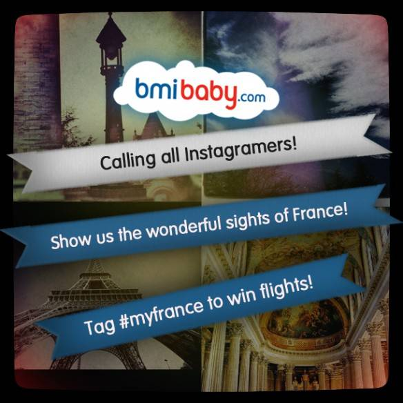 MyFrance new competition in Instagram with bmibaby