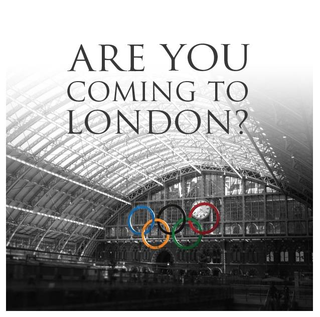 Are you coming to London for the Olympics?