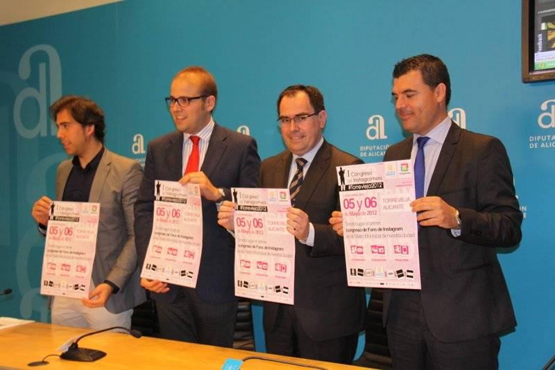 Presentación oficial del primer congreso de Instagramers en Alicante
