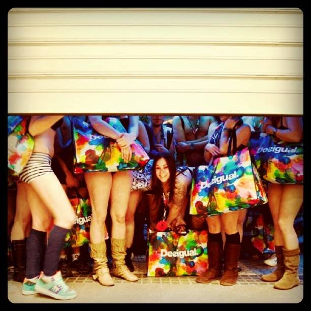 Win a VIP pass for the hottest event with the new Desigual contest on Instagram