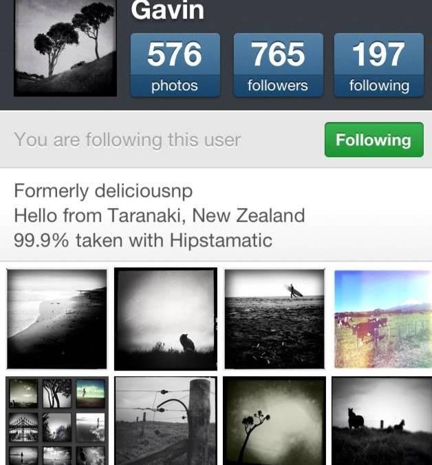 FlashOn Instagramers 1.29: @gavhayes