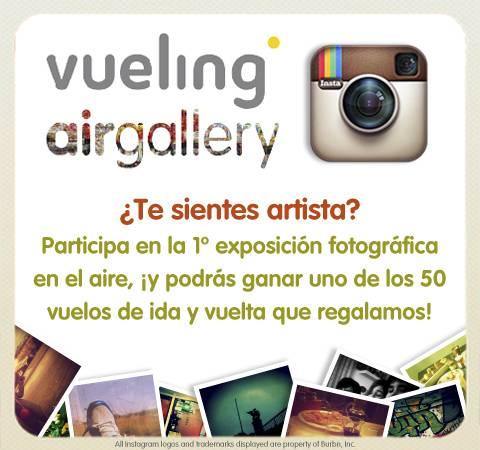 Concurso Instagram: Tus fotos volarán por todo el mundo con Vueling