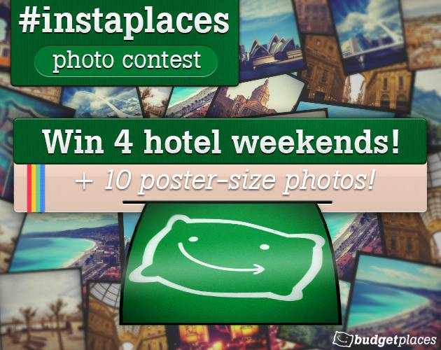 Instaplaces, a new contest in Instagram organized by Budget Places