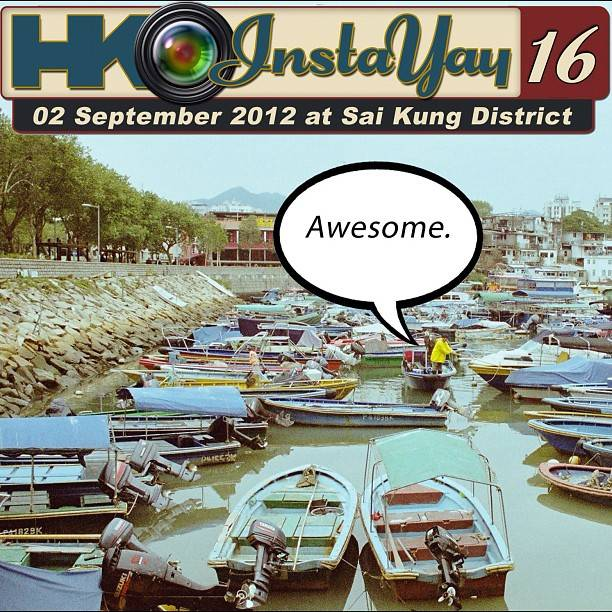 HKINSTAYAY 16 will be held on 2nd September (Sunday), 11am – 6pm at Sai Kung