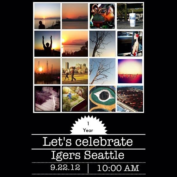 Instagramers Seattle first Birthday Instameet (video)