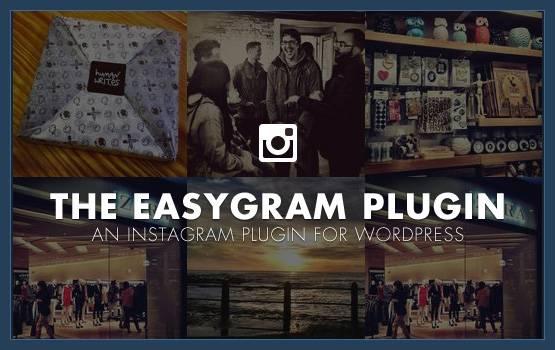 Easygram, The Instagram WordPress Plugin by Obox