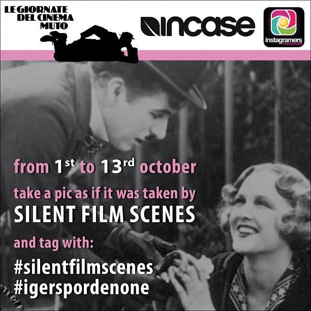 Silent Film Days Contest in Pordenone, Instagramers Italia Network