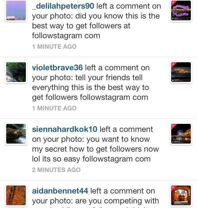 ¿Cómo evitar el spam en Instagram?