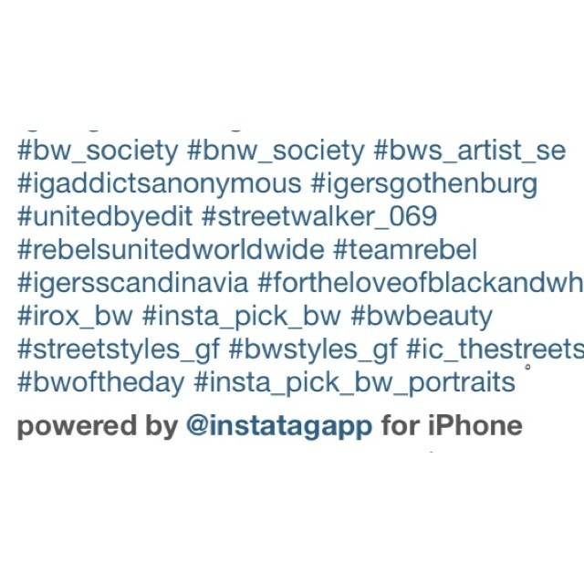 How to use Hash Tags on Instagram ?