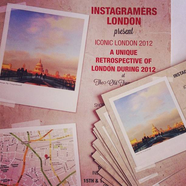 Instagramers London presents its second Instagram photography exhibition, Iconic London 2012